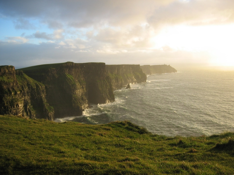 Cliffs-of-Moher-Sunset-wallpaper