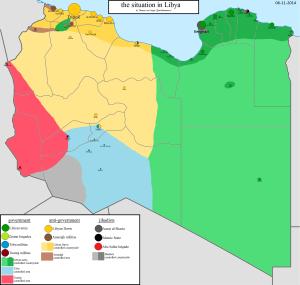 Libia-attori-interni-Mappa