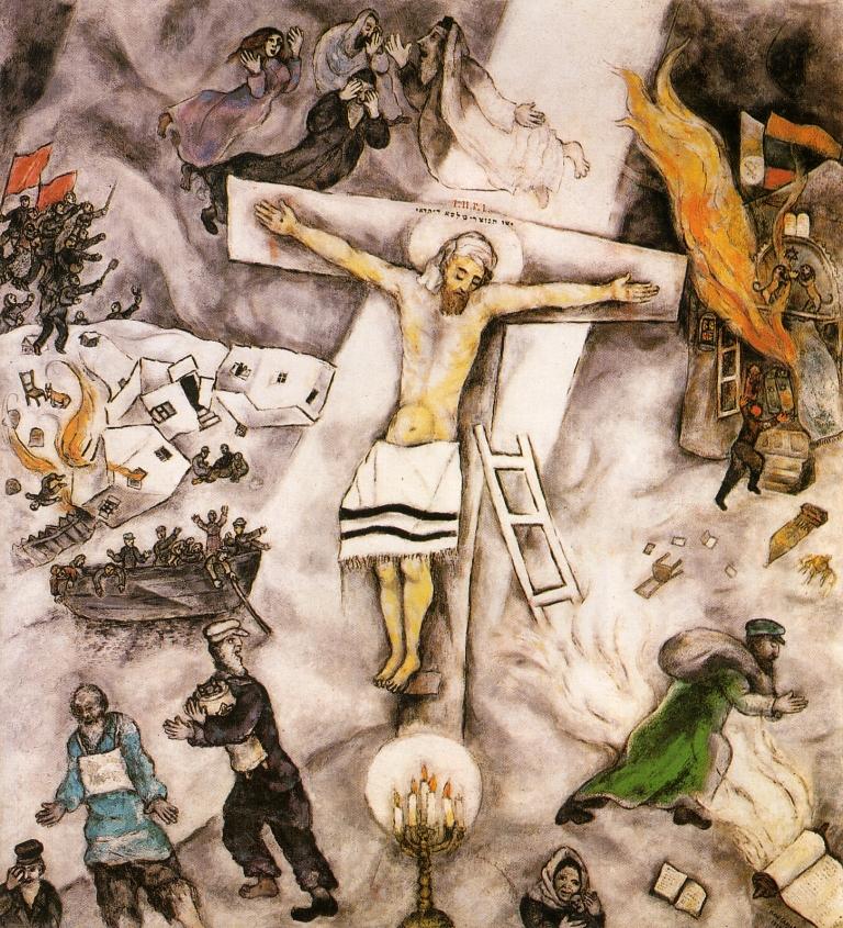 crocifissione bianca 240