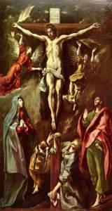 El Greco. Crocifissione