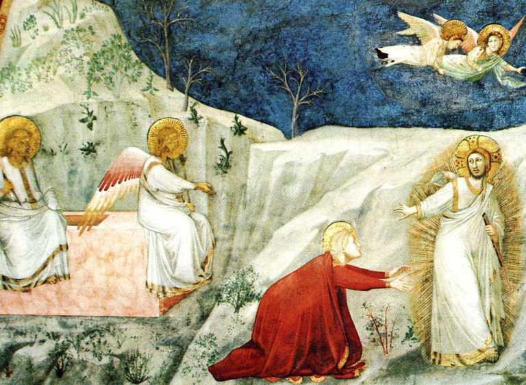Giotto. Noli me tangere