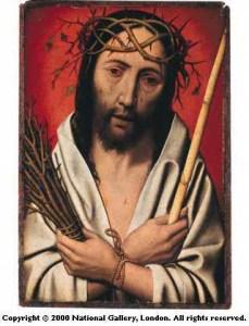 Mostaert. Cristo coronato di spine