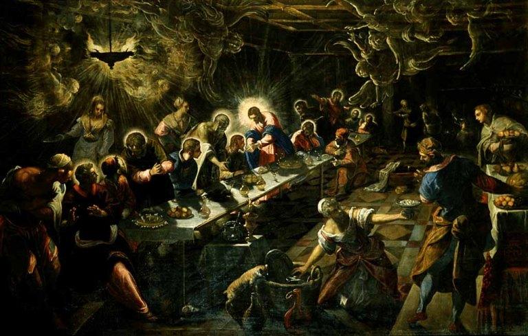 Tintoretto. L'ultima cena 2