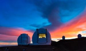 Il telescopio Keck, alle Hawaii
