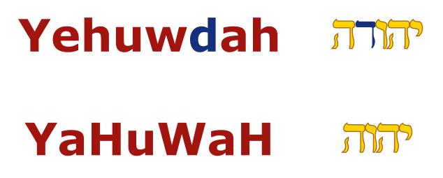 Yahuwdah2YaHuWaH