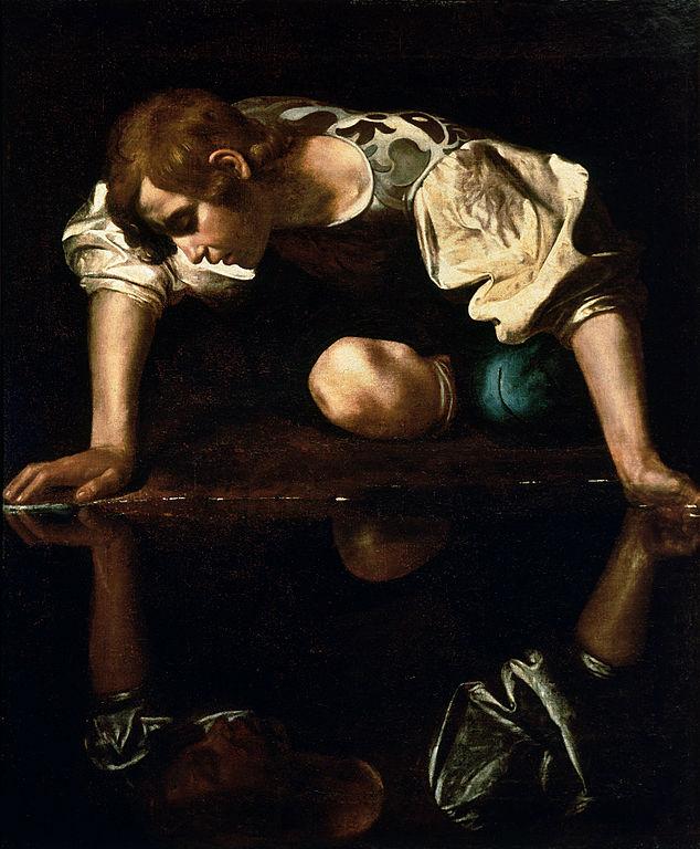 634px-narcissus-caravaggio_1594-96_edited