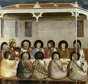 300px-Giotto_di_Bondone_-_No._29_Scenes_from_the_Life_of_Christ_-_13._Last_Supper_-_WGA09214