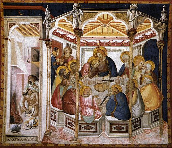 556px-Pietro_lorenzetti,_ultima_cena,_assisi_basilica_inferiore,_1310-1320