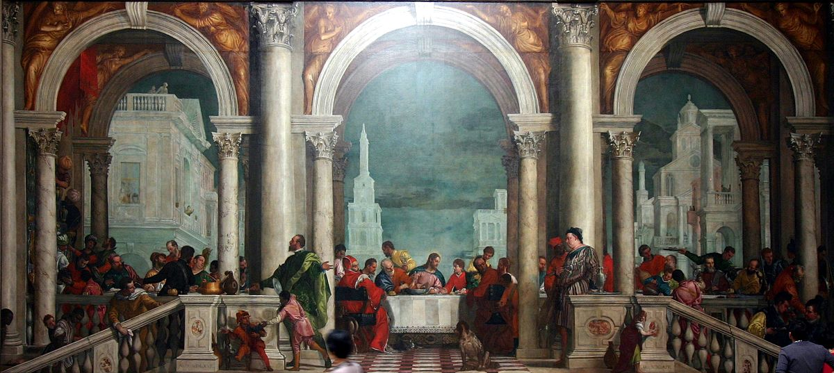 Banquet_in_the_House_of_Levi_by_Paolo_Veronese_-_Accademia_-_Venice_2016_(2)